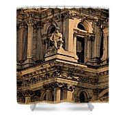 City Hall Closeup Shower Curtain