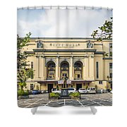 City Hall In Manila Philippines Shower Curtain