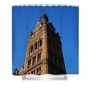 City Hall - Milwaukee Shower Curtain