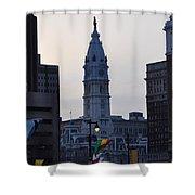 City Hall Philadelphia Shower Curtain