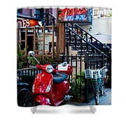 City Jazz Shower Curtain
