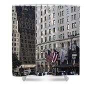 City Life - New York City Shower Curtain