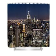 City Lights Shower Curtain