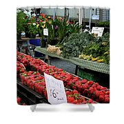 City Market - Manhattan Shower Curtain
