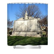 City Memorial Gainesville Texas Shower Curtain