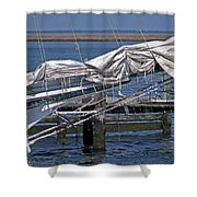 City Of Crisfield Shower Curtain