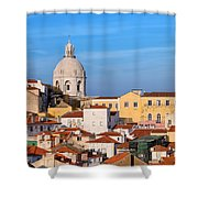 City Of Lisbon In Portugal Shower Curtain