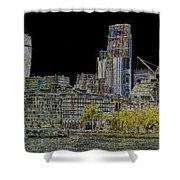 City Of London Art Shower Curtain