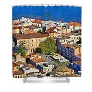 City Of Nafplio Shower Curtain