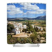 City Of Ronda In Spain Shower Curtain