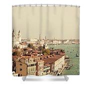 City Of Venice Shower Curtain