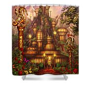 City Of Wands Shower Curtain