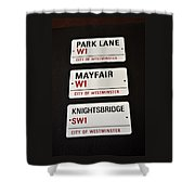 City Of Westminster Shower Curtain