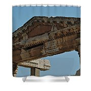 City Of Wood Shower Curtain