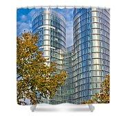 City Of Zagreb Modern Architecture Shower Curtain
