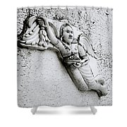 Surreal Angel Shower Curtain