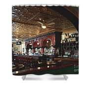 City Park Grill Shower Curtain