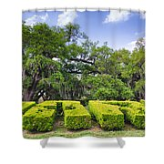 City Park New Orleans Louisiana Shower Curtain