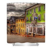 City - Providence Ri - Thomas Street Shower Curtain