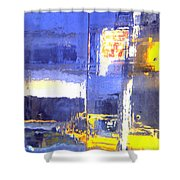 City Reflection Shower Curtain