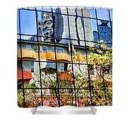 City Reflections By Diana Sainz Shower Curtain