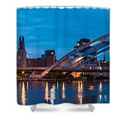 City Reflections IIi Shower Curtain