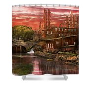 City - Richmond Va - After The Fighting Stopped - 1865 Shower Curtain
