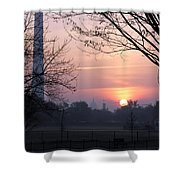 City Rising Shower Curtain