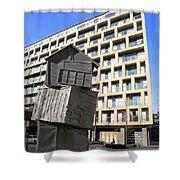 City Sculpture London Shower Curtain