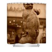 City Sculpture Shower Curtain