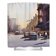 City Shadows Shower Curtain