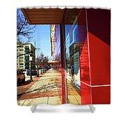 City Sidewalk Shower Curtain