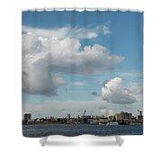 City Skyline, Manaus, Brazil Shower Curtain