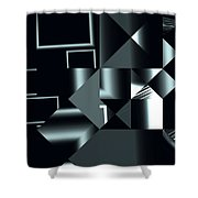 City Smart Shower Curtain