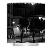 City Square  Shower Curtain