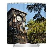 City Time  Shower Curtain