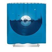 City Tunes Shower Curtain