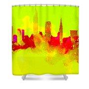 City Vibe Shower Curtain
