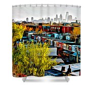 City View Five Shower Curtain