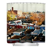 City View Six Shower Curtain