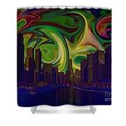 City World Shower Curtain