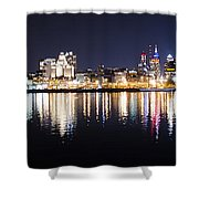 Cityscape - Philadelphia Shower Curtain