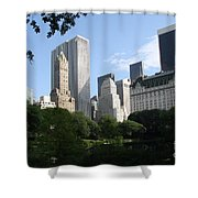 Cityview Form Central Park Shower Curtain