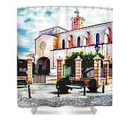 Ciutadella Church Shower Curtain