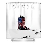 Civil Shower Curtain