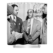Civil Rights Activists Shower Curtain