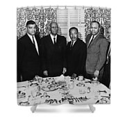 Civil Rights Leaders, 1963 Shower Curtain