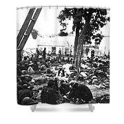 Civil War Hospital, 1862 Shower Curtain