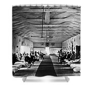 Civil War: Hospital, 1865 Shower Curtain