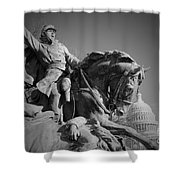 Civil War In Washington Shower Curtain
